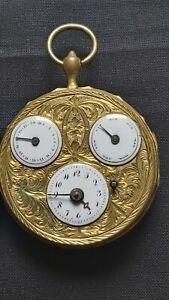 Ancienne montre à coq