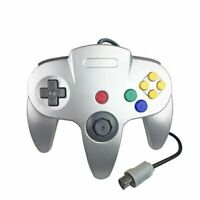 Silver N64 Gamepad Controller (for Nintendo 64) Tight Joystick Free Ship