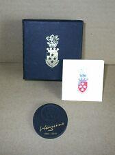 Wedgwood Jasperware Black Memorial Medallion - Boxed