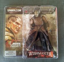 Mcfarlane Movie Maniacs Series 5 The Wishmaster Wes Craven Mint Sealed