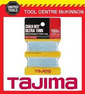 TAJIMA CHALK-RITE EXTRA BOLD REPLACEMENT 30m SNAP LINE – 0.5mm