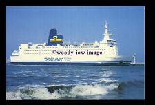 SIM0236 - Sealink-Stena Line Ferry - Stena Invicta , built 1985 - postcard