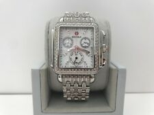 NEW MICHELE DECO DIAMOND MOP DIAMOND DIAL & DIAMOND BRACELET WATCH MWW06P000116