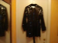 Black jacket w/patent leather look, Lrg.