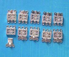 20 X 3-Cuerdas SP Push-En Broches, resultados para la fabricación de joyas Artesanías