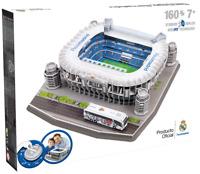 REAL MADRID SANTIAGO BERNABEU FOOTBALL STADIUM 3D JIGSAW PUZZLE 160 PIECES