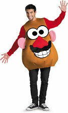 Mr Potato Head Deluxe Adult Mens Costume Funny Mascot Disguise 16828 Halloween