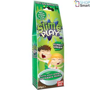 SLIME PLAY GUNKY GREEN SLIMY GOO GELLI BAFF JELLY BATH KIDS CHILDREN NEW