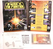 STAR WARS X-WING VS TIE FIGHTER  WINDOWS 95  PC-CD-ROM BIG BOX GAME 1997