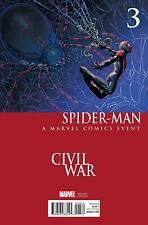 SPIDER-MAN #3 CHIN CIVIL WAR VARIANT COVER MARVEL COMICS 2016
