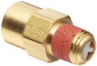 "Brass Check Valve 1/4"" Female Male Npt Small Air Compressor Check Valve, New!"
