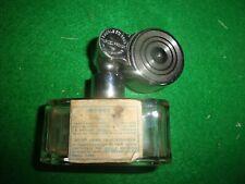 Flacon vaporisateur à piston parfum MARCEL FRANCK perfume spray bottle no chanel