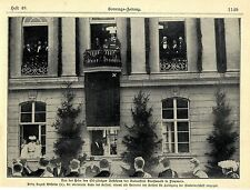 Prinz August Wilhelm Feier d.450jähr.Bestehens der Universität Greifswald 1902