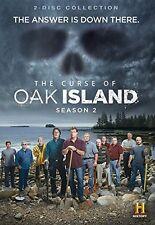 THE CURSE OF OAK ISLAND - SEASON 2  -  DVD - Region 2 UK Compatible  - Sealed