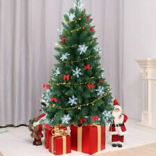 Holiday BRAND Christmas Tree 4 Feet Flocked Snow 4ft Artificial Unlit