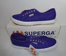 Superga 2750 Cotu Classic Canvas Purple Mens Shoes Trainers RRP £50 UK Size 12