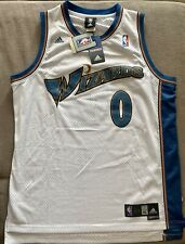 Adidas Swingman Jersey Washington Wizards No. 0 Gilbert Arenas Size XL NWT