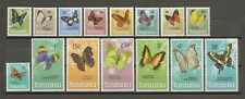 More details for tanzania 1973/8 sg 158/72 mnh cat £18