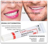 7g fertige Paste Zahnkleber Zement Füllung Brücke Krone Prothesen befestigen DIY