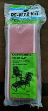 New Arden Paradise Re-Web Kit Chair Webbing 30ft. X 3in. Red with White Trim