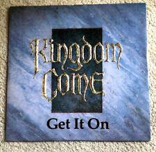 "**KINGDOM COME - Get It On 12"" Vinyl | 17 | Loving You | Rock | 80s | KCX1 **"