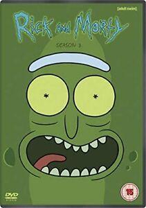 Rick and Morty - Season 3 (DVD) **NEW**
