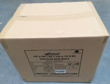 "15"" x 50' WESTON Vacuum Sealer Bag Rolls 3mil #30-0015-K, Full Case (12 Rolls)"