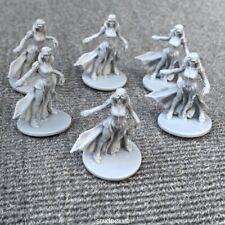 6PCS Dark Heaven Legends Reaper Lady D&D Dungeons & Dragon Miniature Collection