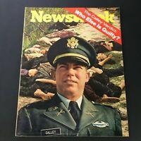 VTG Newsweek Magazine April 12 1971 - The William Calley Verdict / Newsstand