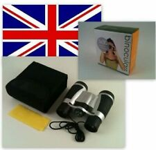 NEW 5 X 30 DCF BINOCULARS with built in compass, Ruby Coated Lenses, Soft pouch