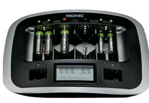 Tronic Fast charge battery charger with USB Port UK SELLER