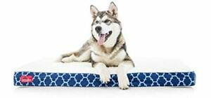 Brindle Waterproof Designer Memory Foam Pet Bed-Removable Machine Washable Co...