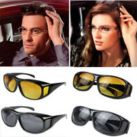 2019 HD Night Vision Sunglasses Driving Eyewear Over Wrap Around Glasses