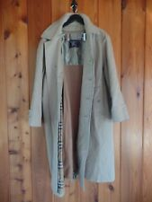 BURBERRY Men's Coat Beige 42 S with removable wool lining