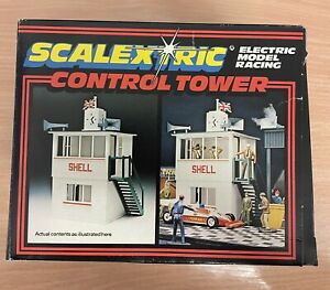 SCALEXTRIC Electric Model Racing - C702 Vintage Control Tower