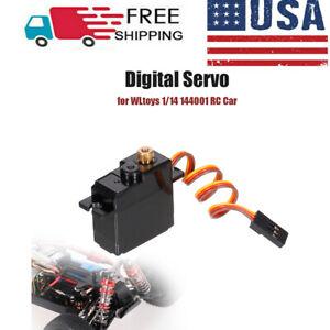 For WLtoy 1/14 144001 RC Car Truck Digital Servo Metal Gear Servo Parts US SHIP