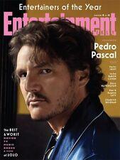 Entertainment Weekly Magazine NEW Pedro Pascal on Cover January 2021 Mandalorian
