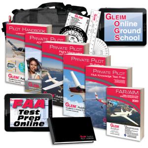 NEW Gleim Deluxe Private Pilot Kit  2021 Test Prep Online Ground School