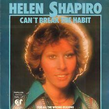 "HELEN SHAPIRO – Can't Break The Habit (1977 VINYL SINGLE 7"" HOLLAND)"