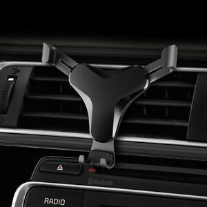 Car Air Vent Gravity Mount Holder Stand For Mobile Phone Samsung S9 Note9 Tablet