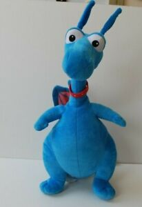 "Disney Doc McStuffins Blue Talking Dragon plush soft cuddly toy13"" FREE DELIVERY"