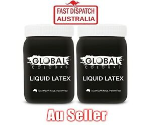 Liquid Latex 2 x 200ml Zombie Scars Wounds Special Effects Adhesive Makeup
