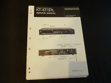 ORIGINALI service manual KENWOOD kt-57/57l