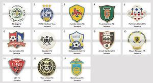 Badge Pin Jamaica Football Clubs