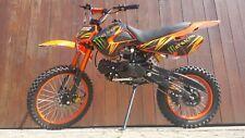 RV-RACING GT607S 125ccm Dirtbike Orange  Pitbike Enduro Cross 4 Takt 4 Gang TOP!
