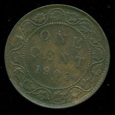 1903 Canada Large Cent King Edward VII   R180