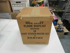 1990 PANINI DICK TRACY GIANT STICKER-POSTER SET 50 TOTAL FACTORY SEALED CASE