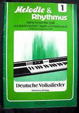Melodía & ritmo-alemana canciones populares Sikorski notas musicales instrumentos de teclas