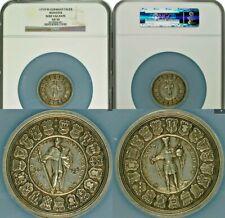 German States 1719 Munster Bistum Sede Vacante Silver Taler NGC AU50