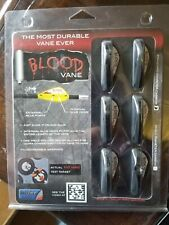 Outer Limit Archery Blood Vane Black Standard Carbon 31285